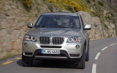 The 2011 BMW X3 xDrive 35i