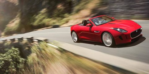 HP in the new F-Type ranges from 360 to a meaty 495.