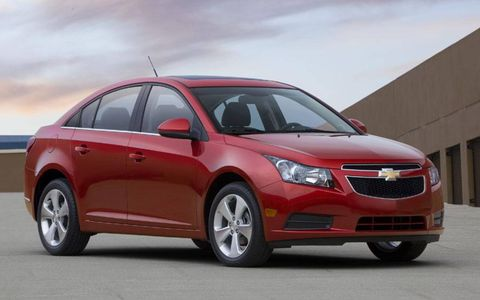 AW Flash Drive: 2011 Chevrolet Cruze