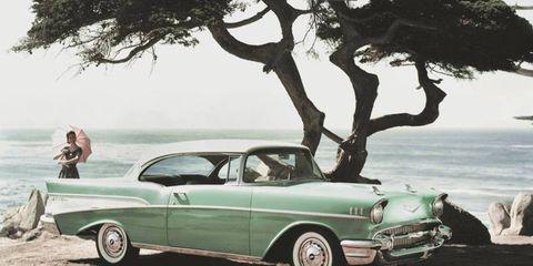 1957 Chevrolet Bel Air two-door hardtop