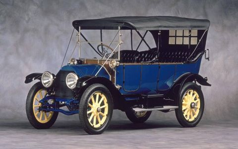 1912 Cadillac with electric start