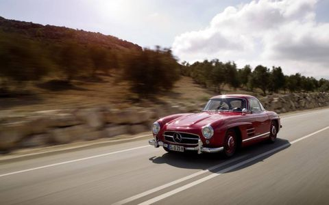 1954-63 Mercedes-Benz 300SL Gullwing or Roadster