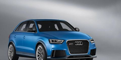 Distinguishing the concept from the standard Q3 on sale in Europe since mid-2011 is a series of exterior styling changes.
