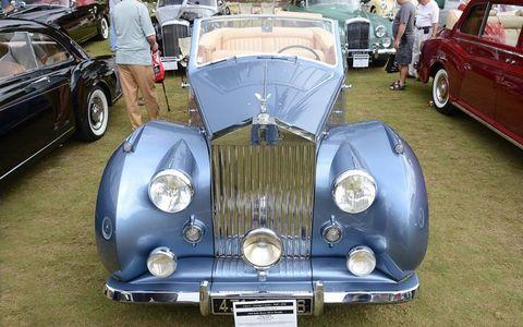 The 1948 Rolls Royce Silver Wraith of Orin Smith.