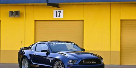 2012 SHELBY1000 FORD MUSTANG