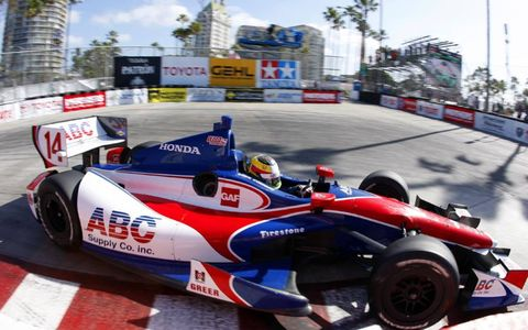 2012 IndyCar Long Beach: Mike Conway