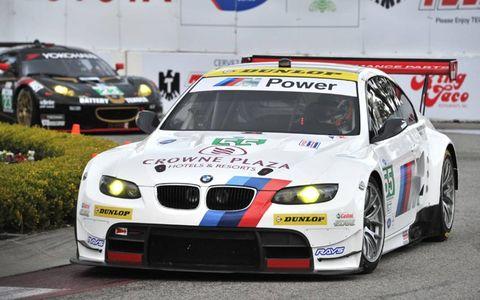 2012 ALMS Long Beach: #55 BMW Team RLLR BMW E92 M3