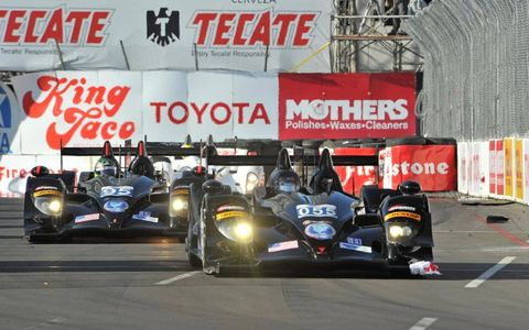 2012 ALMS Long Beach: #055 & #95 Level 5 Motorsports HPD ARX-03b