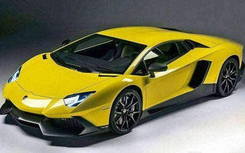 The Lamborghini Aventador LP720-4 50 Anniversario will use the same 6.5-liter V12 as the base Aventador, making 720 hp.