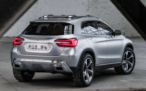 Expect to see a production version of the GLA at the Frankfurt motor show in September.