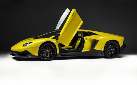 The Lamborghini Aventador LP720-4 50 Anniversario will debut at the Shanghai auto show.