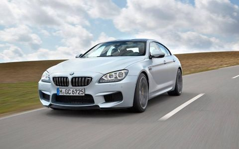 The BMW M6 Gran Coupe is the latest model from the German automaker's M division.