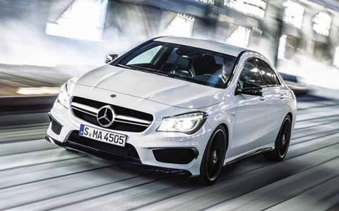 The CLA45 AMG boasts a 0-62 mph time of 4.6 seconds.