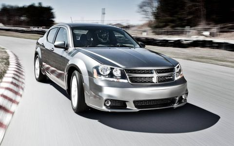 The 2012 Dodge Avenger R/T returns to the nameplate at the New York Auto Show