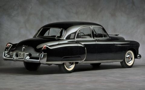 Cadillac's tail fins grew through the 1950s and became a staple of the Cadillac brand.