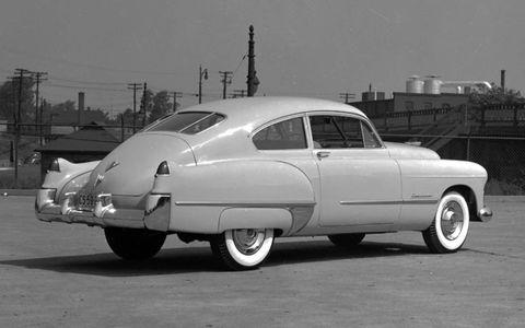 The '48 Cadillacs ushered in a new era of aeronautically styled car design.