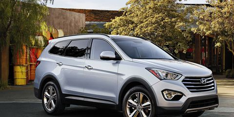 The Hyundai Santa Fe will receive some new suspension and steering tech for 2015.