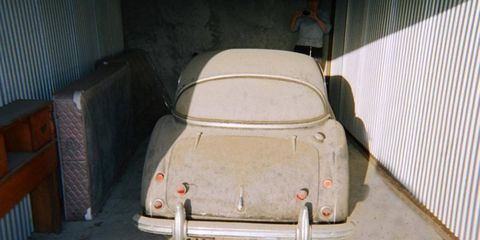 Rear view of the Austin-Healey 3000 MkI