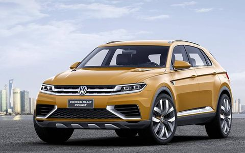 The Volkswagen CrossBlue Concept makes 415 total hp.