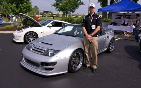 Russell Floyd of Z1 Motorsports claims his 1993 twin-turbo 300ZX makes 1,200 hp.