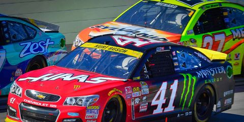 Kurt Busch (41) is still alive in the NASCAR Chase.