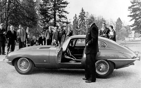 Geneva E-type launch in 1961