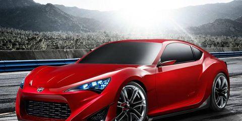 Scion FR-S coupe concept