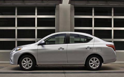 The 2012 Nissan Versa