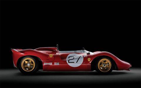 Ferrari built just three of these cars.