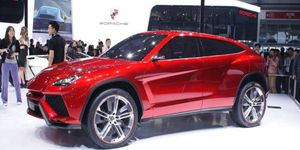 The Urus debuted in concept form in 2012.
