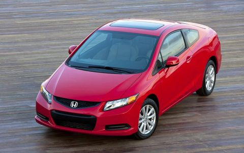 The 2012 Honda Civic EX Coupe