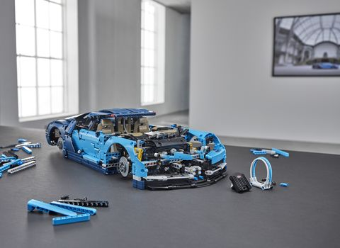 The folks at Lego Technic have made owning a Bugatti Chiron easier. The only problem -- you have to build it yourself.