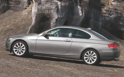 Arriving in showrooms this September, the Coupe will come in two engine flavors, the 230-hp 328i, and the hopped-up 335i, with 300 hp and 300 lb-ft of torque on tap thanks to the automaker's twin-turbocharged, 3.0-liter inline six – an engine BMW says is the most powerful six in the company arsenal not wearing an M badge. The engine's peak torque is available from 1,400 – 5,000 rpm, and the car scoots to a 0-to-60 mph time of 5.3 seconds, according to BMW. The 335i is electronically-limited to a top speed of 150 mph in sport trim.