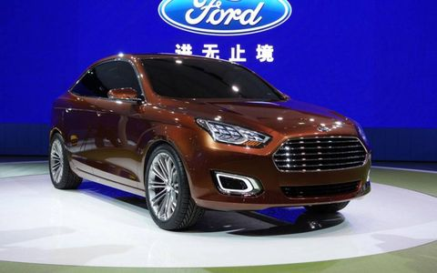 The Ford Escort is set to go on sale in 2014 in China.