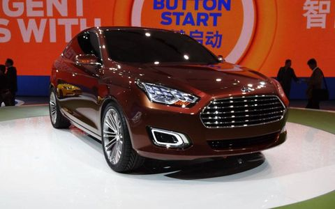 Ford has resurrected the Escort name on a contemporary styled compact sedan set to go on sale in 2014 in China.