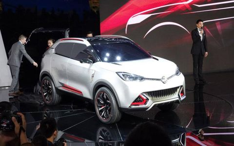 MG SC concept from Shanghai auto show