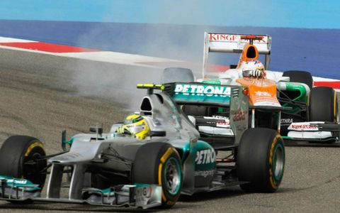 Last week's winner in China, Nico Rosberg finished fifth in Bahrain on Sunday.