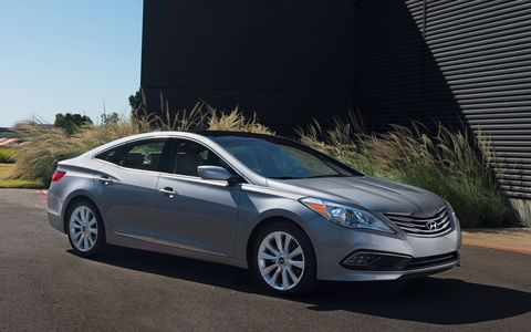 The Azera offers the highest levels of luxury, performance, and efficiency, all brought together in an innovative design.