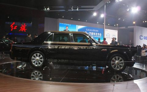 FAW Hongqi introduced the L7 in Beijing.