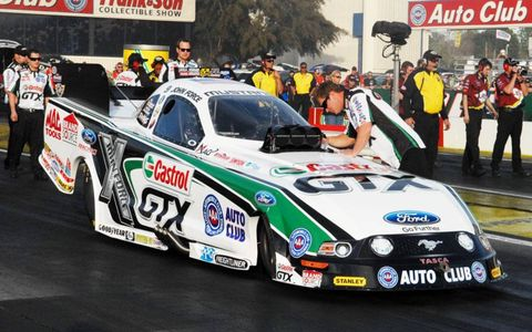 John Force has 133 event victories in NHRA Funny Car competiton.