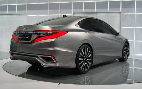Honda says the shape features were inspired by dragons.