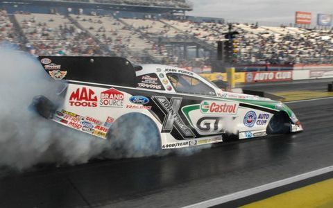 John Force has been racing in the NHRA since 1978.