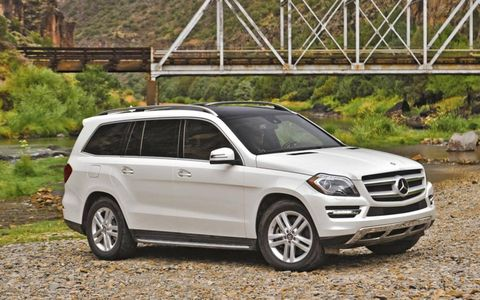 Our 2013 Mercedes-Benz GL350 Bluetec test vehicle was well equipped with all of the fancy gadgetry Mercedes-Benz has to offer.