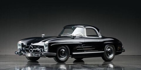 The Don Davis collection features not one, but two Mercedes-Benz gullwings.