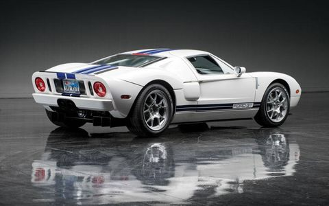 If you're craving more modern performance, there's also a 2005 Ford GT.