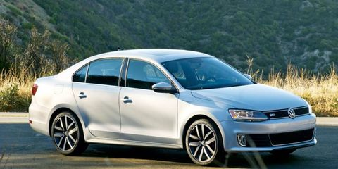 The 2012 Volkswagen Jetta GLI sedan performed admirably during our Autofile testing.