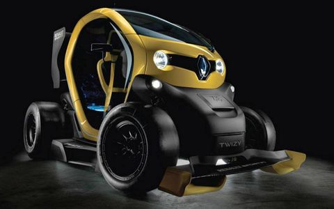 Behold, the Twizy F1 concept: Gallic ingenuity at its finest.