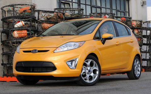 The Fiesta is Ford's much-hyped world-car entry into the small B-class segment in the United States