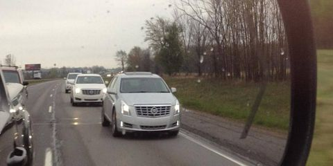 The XTS is set to be Cadillac's range-topping luxury sedan.