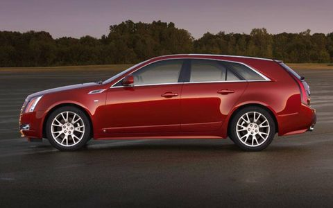 Driver's Log Gallery: 2010 Cadillac CTS Sport Wagon